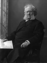 My name is Henrik Ibsen. I wrote a play called A Doll's House. That's the reference.