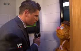 Just go back to interviewing puppets.