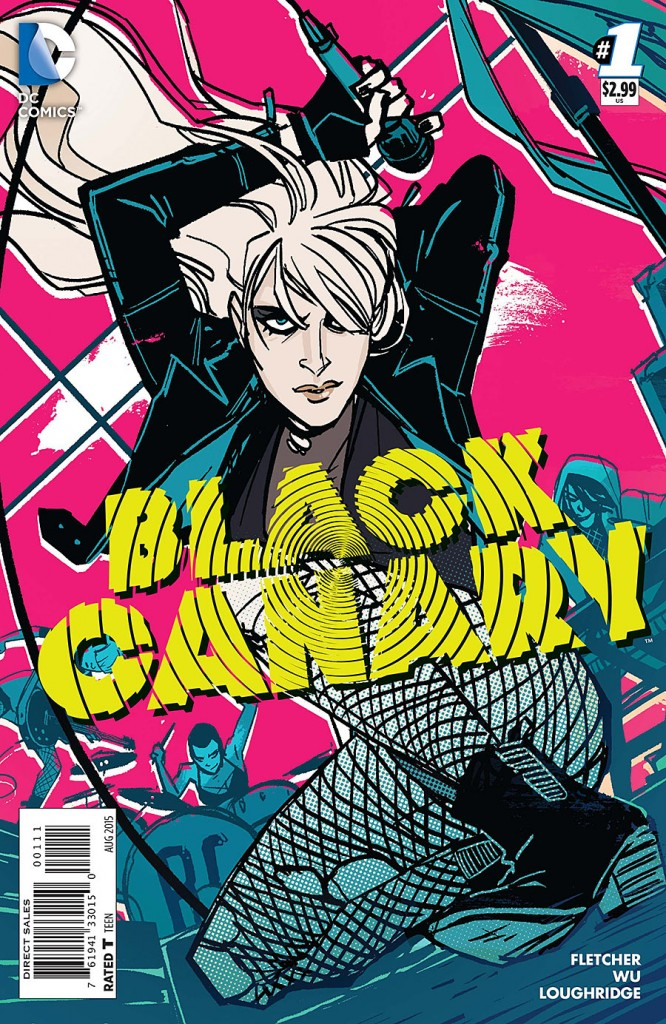 Black Canary #1 cover
