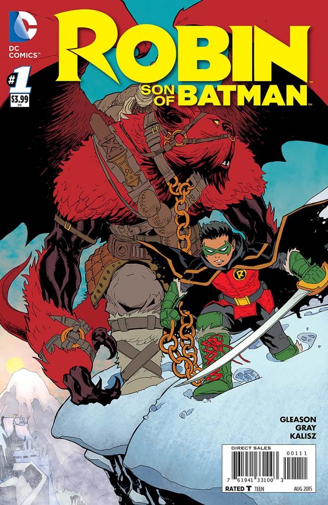 Robin Son of Batman #1 cover