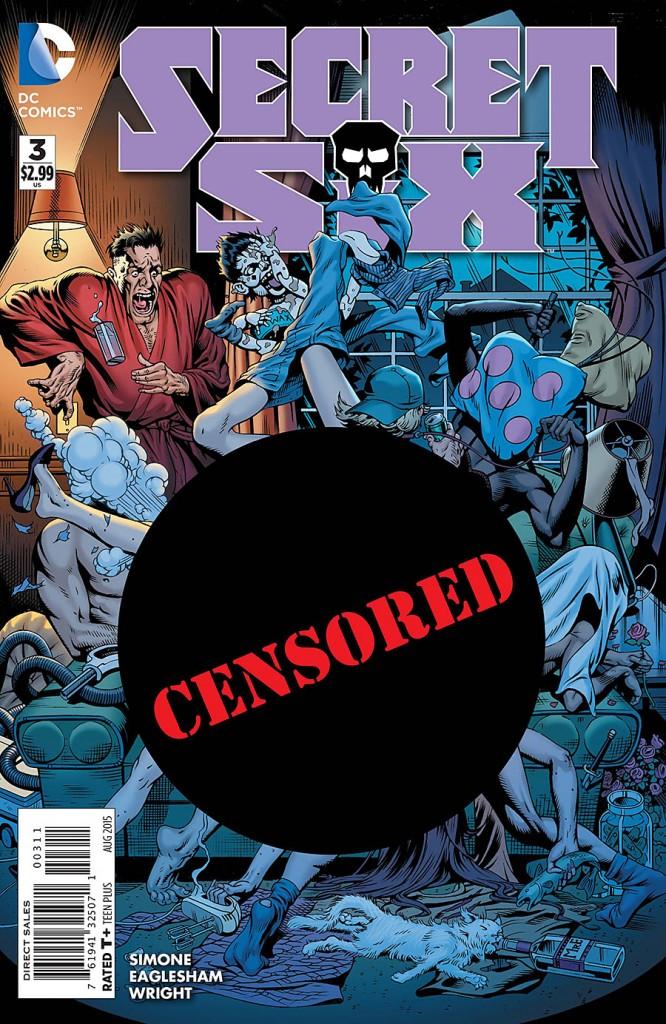 Secret Six #3 cover