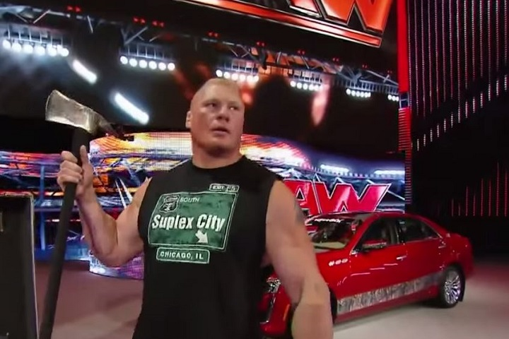 Brock Lesnar from Raw this week!