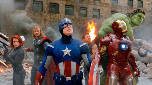Cap's suit is remarkably clean.