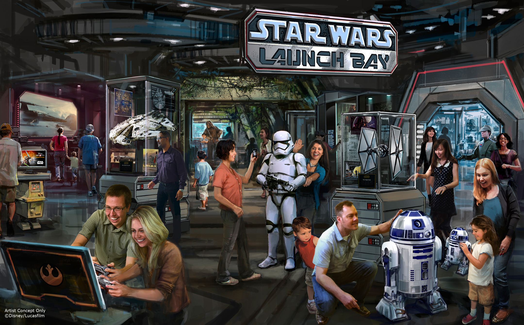 Star Wars Launch Bay: Coming to a Disney park near Orlando and Los Angeles soon!