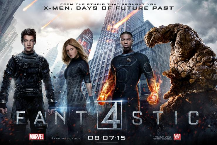 Fantastic Four movie banner