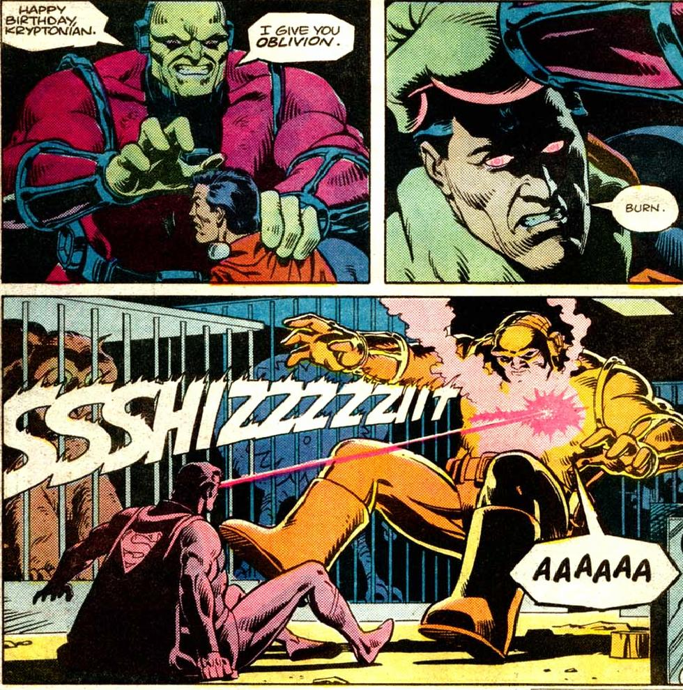Know what happens when you piss Superman off? Ask that guy.