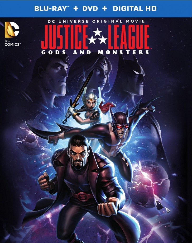 Justice League Gods and Monsters cover