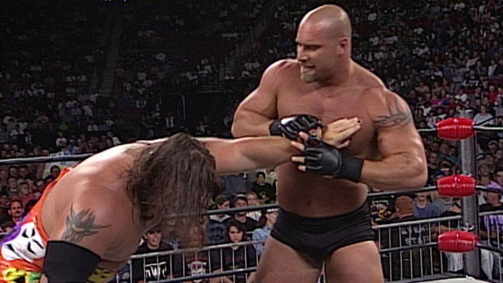 The debut of Bill Goldberg and what an interesting debut.