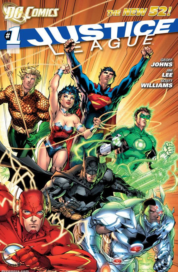 Justice League Jim Lee cover
