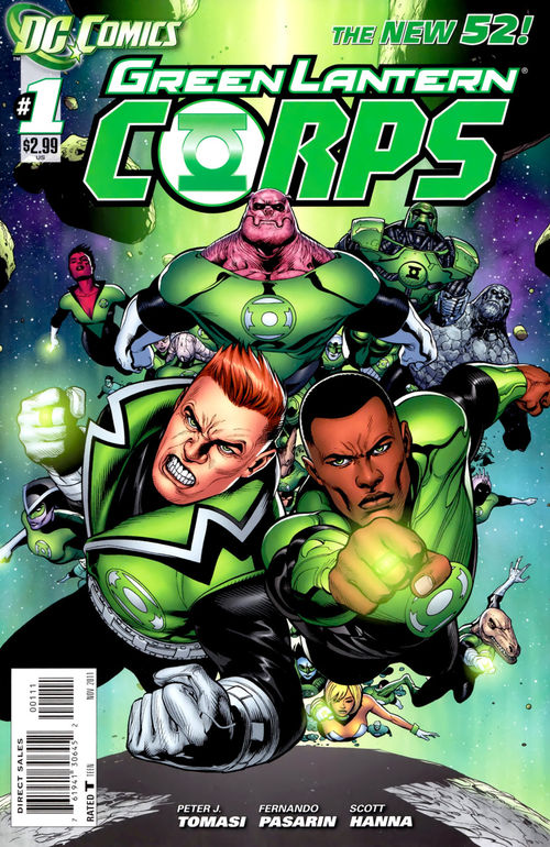 Green Lantern Corps #1 cover