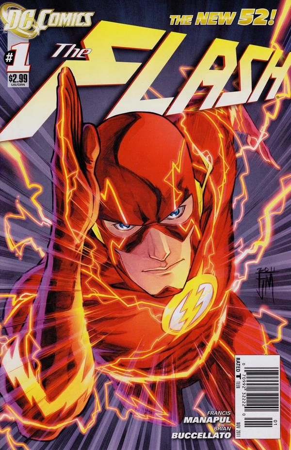 The Flash #1 cover