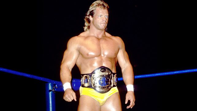 Still WCW World Heavyweight Champ, 'The Total Package' Lex Luger.