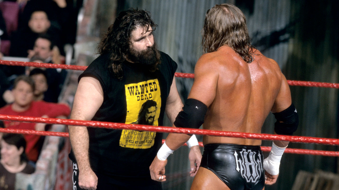 Cactus-Jack-vs.-Triple-H-1-Face-Off