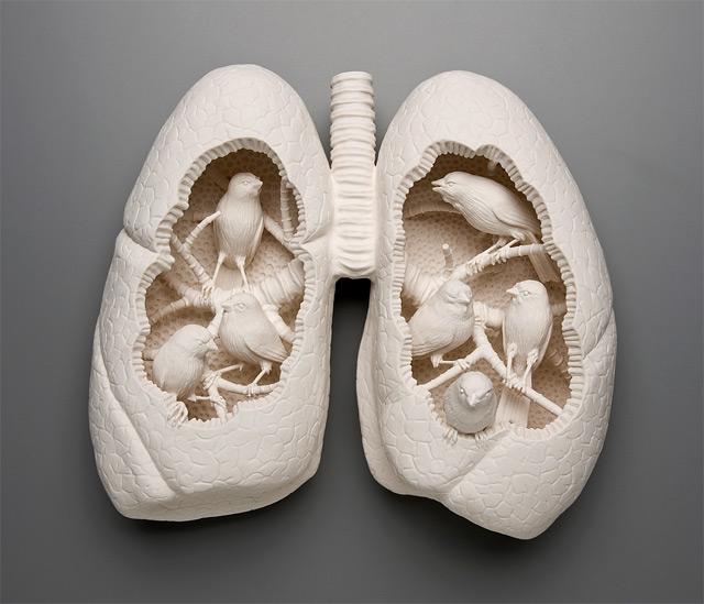 porcelain-sculpture-lungs-birds