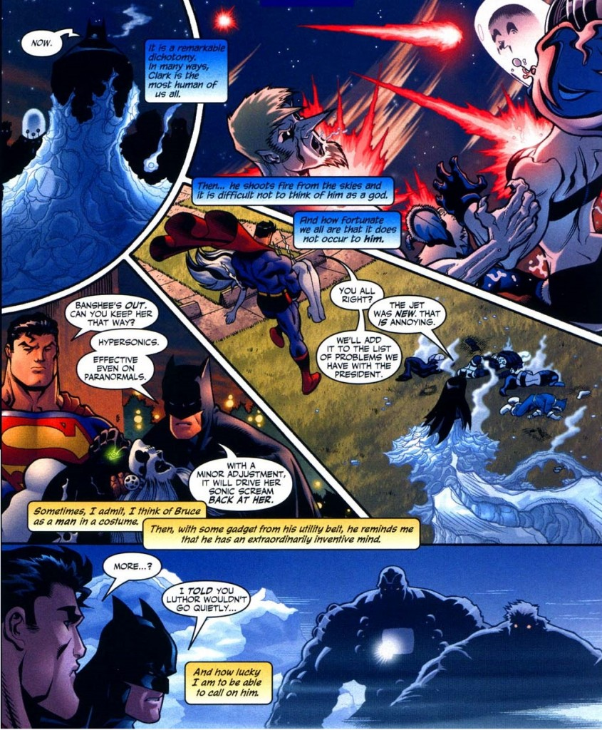 Superman Batman Public Enemies observations
