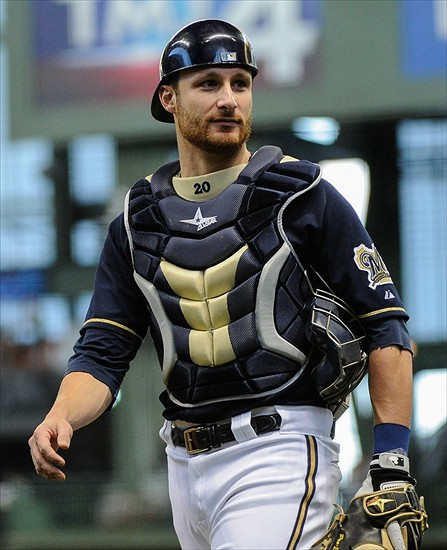 Jonathan Lucroy may be catching elsewhere by the end of the 2016 season.