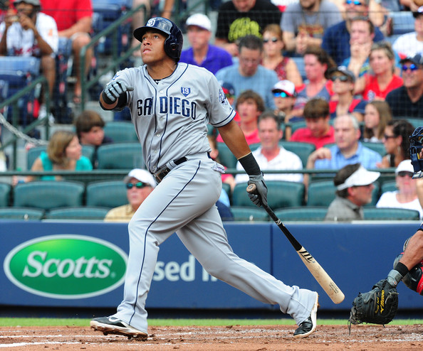 Here's Padres third baseman Yangervis Solarte, because why not?