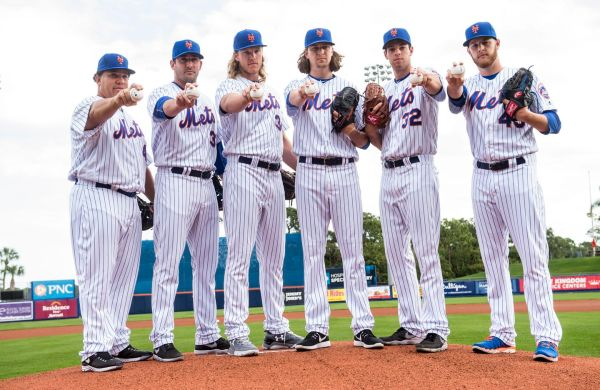 It's the Dangerous Alliance of starting rotations ... plus Bartolo Colon.