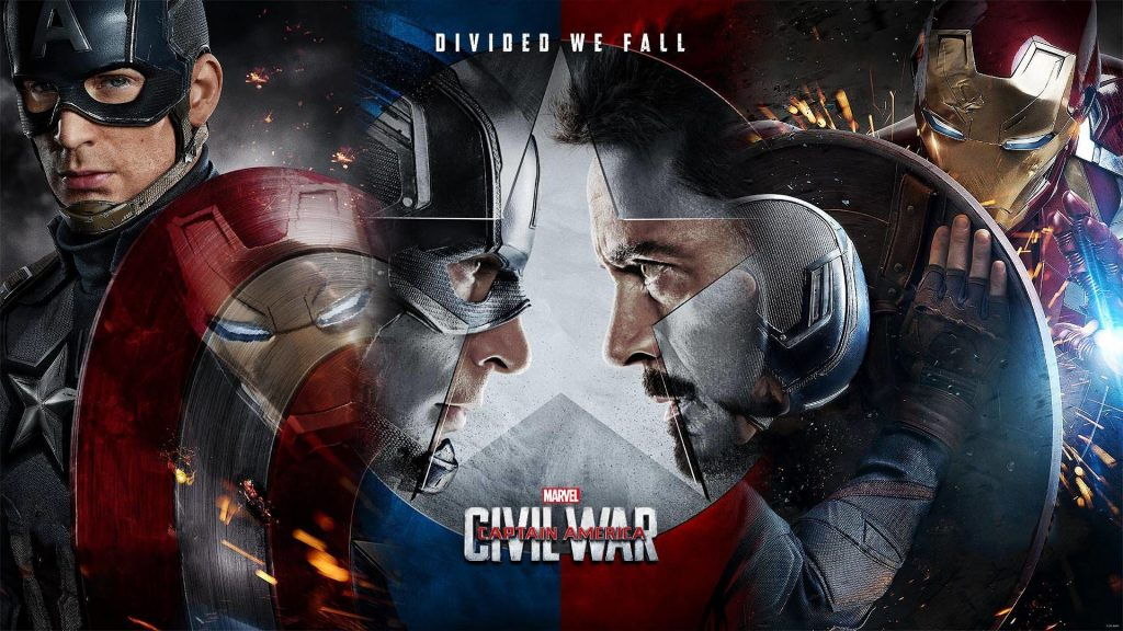 Captain America: Civil War banner