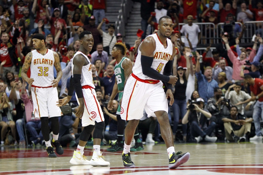 NBA: Playoffs-Boston Celtics at Atlanta Hawks