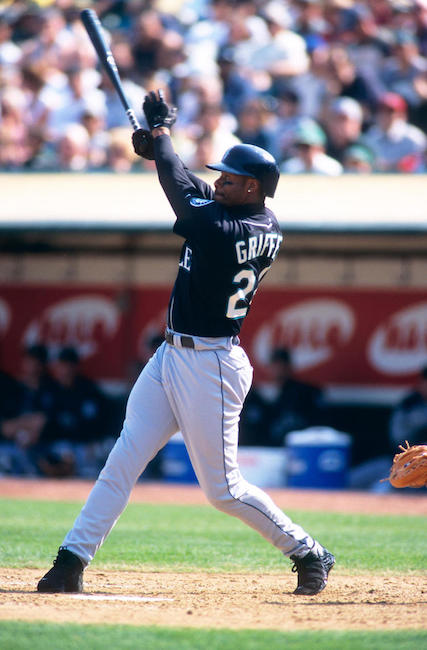 One of the sweetest swings of all time, Griffey swatted 630 home runs.