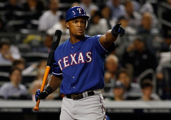 Adrian Beltre is helpfully pointing out a new team atop the PTBPR.