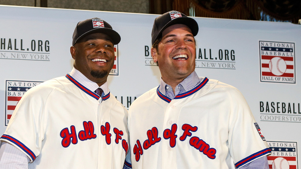 Two baseball icons of the 1990s, set to join the greatest of the great.