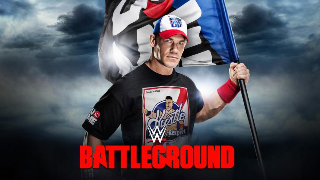 wwe-battleground-2016-cena-flag