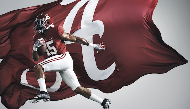 The Alabama Crimson Tide head into 2016 as the No. 1 team in the nation.