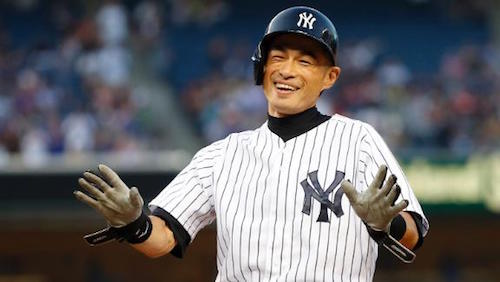 Despite his serious approach to baseball, Ichiro appreciated the lighter side of the game too.