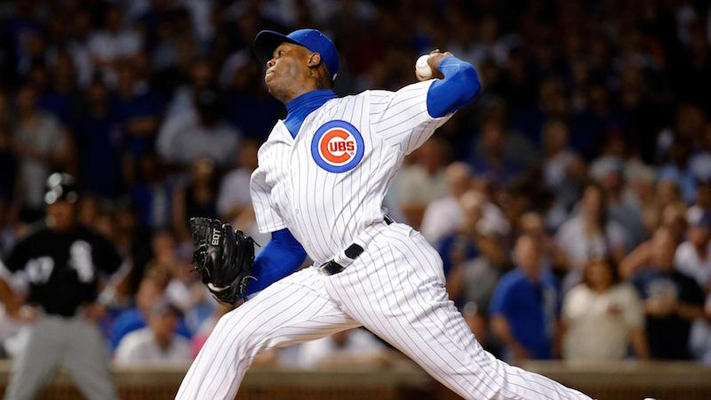 Is Chapman a butthole? Yes. Can he help the Cubs win? Yes. Is that really what matters? Up to you.