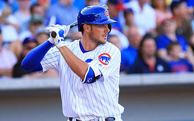 If Roy Hobbs and Zac Efron had a child, it would be Kris Bryant.