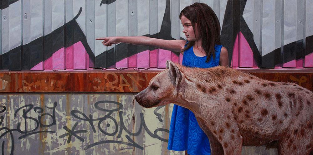 peterson-animal-girl-painting