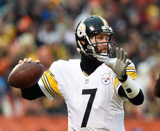 Big Ben and the Steelers are a popular pick for our guys in 2016.