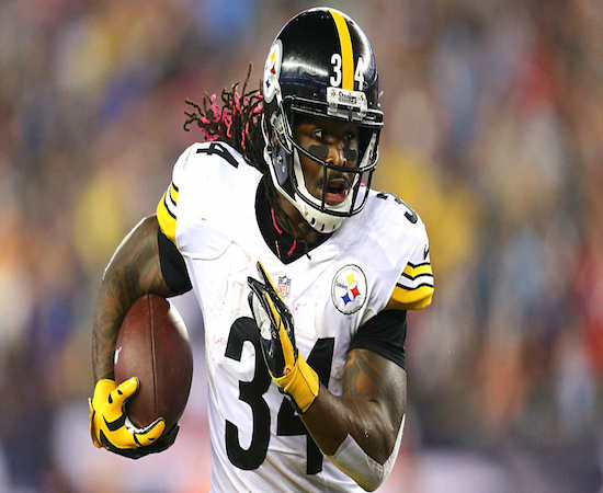 Steelers' running back DeAngelo Williams (2 TDs) helped Pittsburgh to a big first week victory.