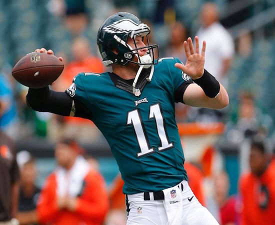 Philly QB Carson Wentz had another solid week, but our guys remain on the fence.