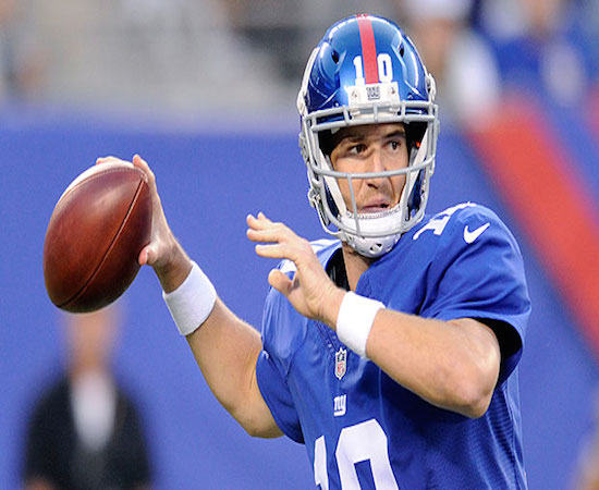 Eli Manning and the Giants continue to struggle.