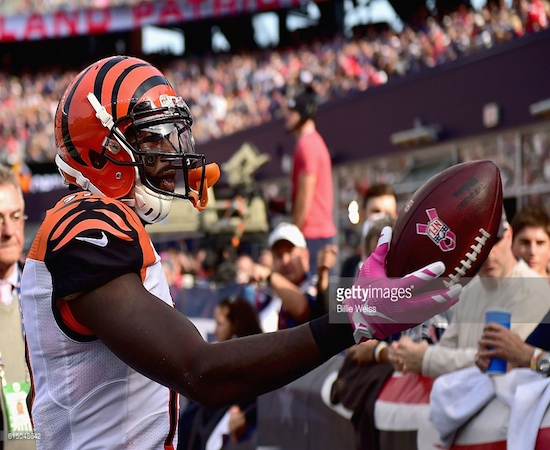 Brandon LaFell and the 2-4 Bengals hope to pick things up with a lighter schedule coming up.