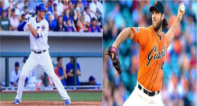 Bryant vs. Bumgarner will be just one key matchup as the Cubbies take on the Giants.