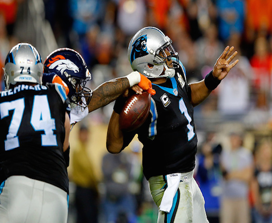 Cam Newton and the Panthers are a major disappointment in 2016.