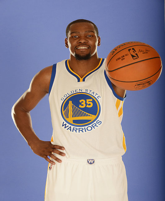 Kevin Durant's highly scrutinized addition to the Golden State Warriors will be a major plot point this year.