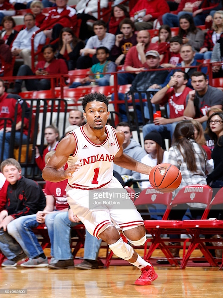 James Blackmon, Jr. had a huge opening night for the Hoosiers, who topped Kansas 103-99 on Friday.
