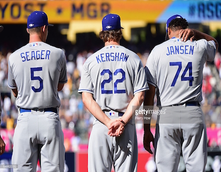 Corey Seager, Clayton Kershaw, and Kenley Jansen all played huge roles in getting LA to its fourth straight NL West crown.
