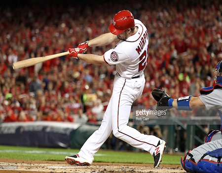 Free agent addition Daniel Murphy was really, really good for NL East champs in Washington.
