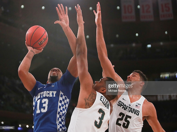 Kentucky toppled Michigan State 69-48 on Tuesday, moving the Wildcats to 3-0.
