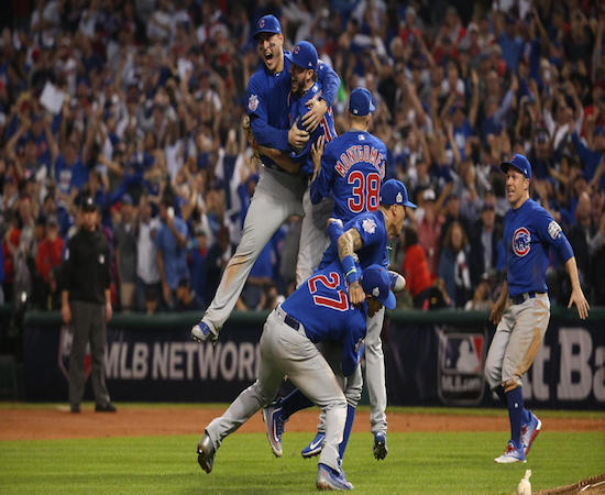 After 108 years of futility, your World Champion Chicago Cubs.