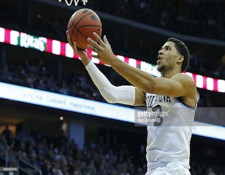 Josh Hart's 37 points helped No. 1 Nova stave off Notre Dame.