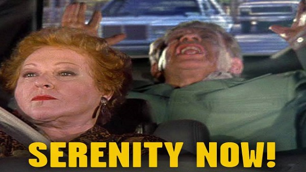 Seinfeld The Ptbn Series Rewatch The Serenity Now S9 E3 Place To Be Nation 1 reply last reply reply quote 0. place to be nation