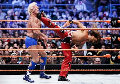 WWE 2K14 - Ric Flair Entrance + Finisher - WrestleMania 24