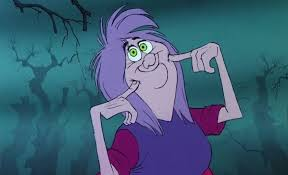 Top 15 Disney Spell Casting Characters: Number 13; The Magnificent  Marvellous Mad Madam Mim (The Sword in the Stone) – The Creativity Storm